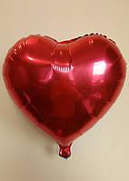 """Фольгированные шары """"Сердечки"""" 45 см Красный"""