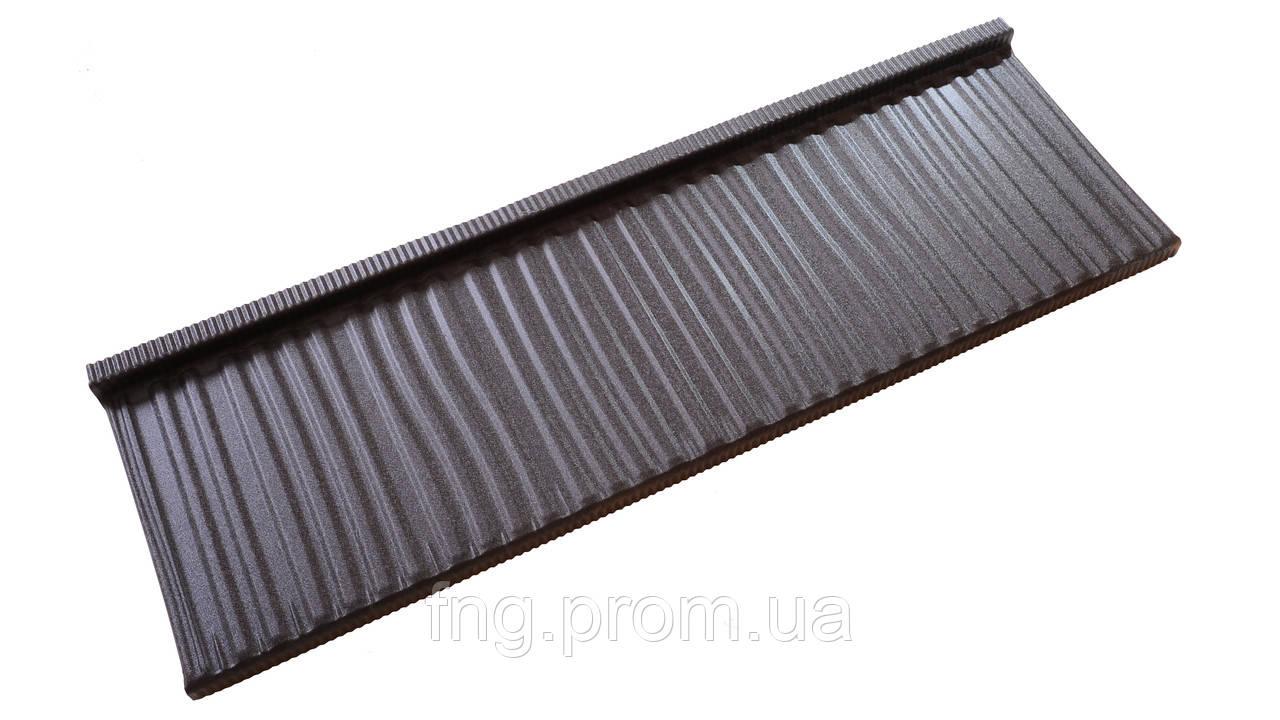 Металлочерепица KARPATIA MODUL  PURMAT 0,5 мм  POLAND (0,466 м.кв.эф.)