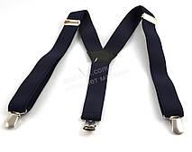Подростковые подтяжки-резинка темно синего цвет (100390)