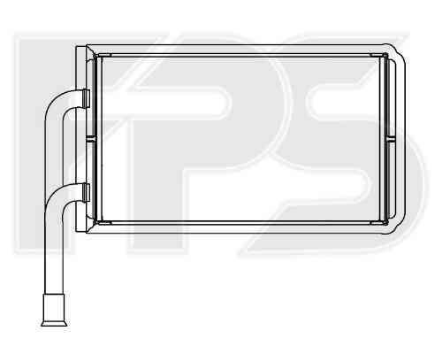 Радиатор печки Ford Transit '00-06 (FPS)