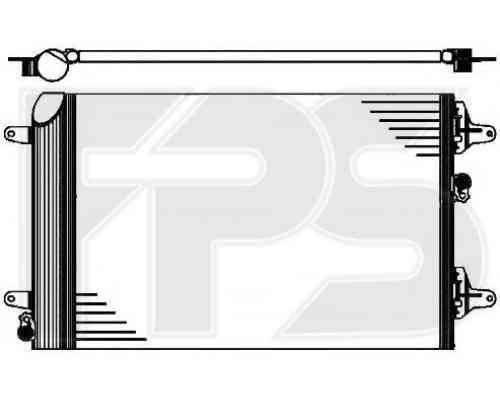 Радиатор кондиционера Ford (NRF) FP 28 K200 , фото 2
