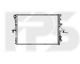 Радиатор охлаждения двигателя Audi Q7, Porscher VW Touareg, Porsche Cayenne 3.0 TDI, 4.2, 3.2 (02-09) NRF