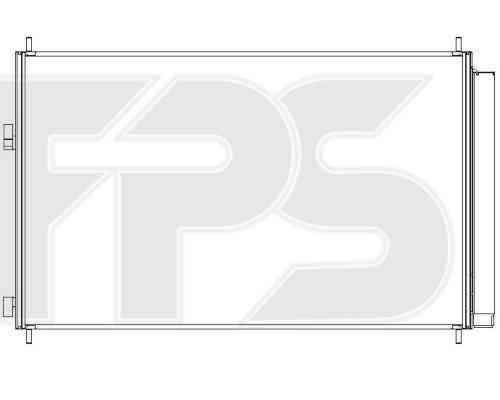 Радиатор кондиционера Toyota RAV4 2006-2010