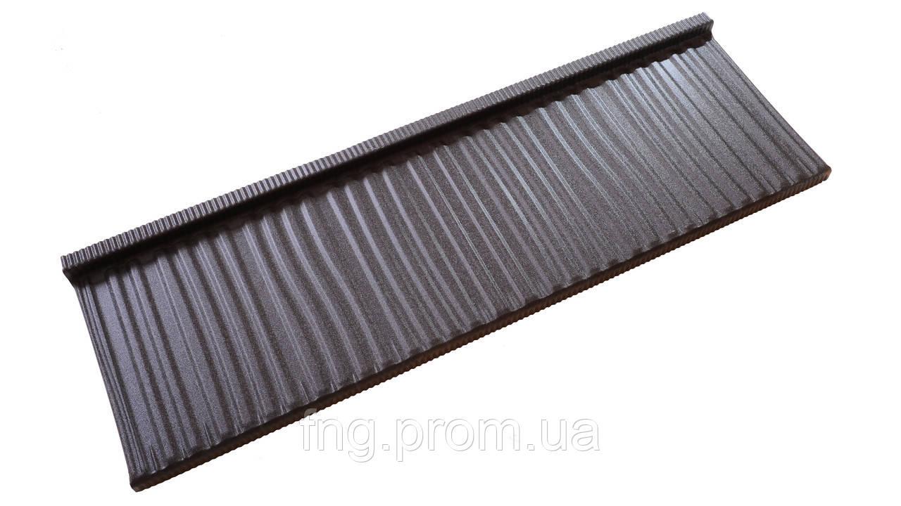 Металлочерепица KARPATIA MODUL  PURLAK 0,5 мм  POLAND (0,466 м.кв.эф.)