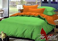 Полуторное постельное белье (поплин) P-0146(1263)