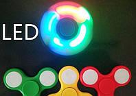 Светодиодный спиннер, Fidget Spinner с LED подсветкой, Hand spinner