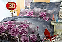 Двуспальное постельное белье (поликоттон) BR039