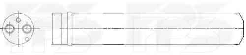 Радиатор кондиционера Citroen C-Crosser 2008-2011