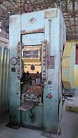 Пресс чеканочный кривошипно-коленный  К8336