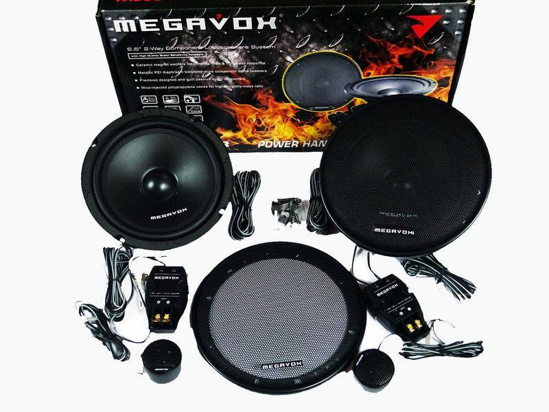 Megavox MHD-622R (300W) Компонентные 16см двухполосные колонки