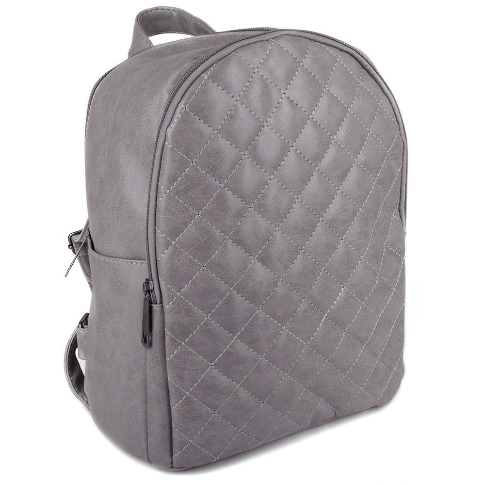 Модный женский рюкзак 346 grey