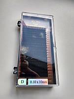 Ресницы I-Beauty черные, 20 линий D 0.10 (10 мм), фото 1