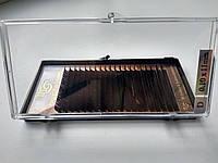 Ресницы I-Beauty черные, 20 линий D 0.10 (11 мм), фото 1