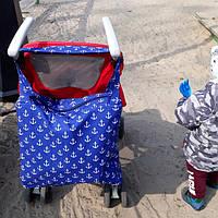 Сумка для игрушек на коляску