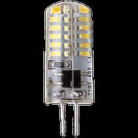 LED лампа LEDEX G4 2,5W 3000K 12V AC-DC чип: Epistar