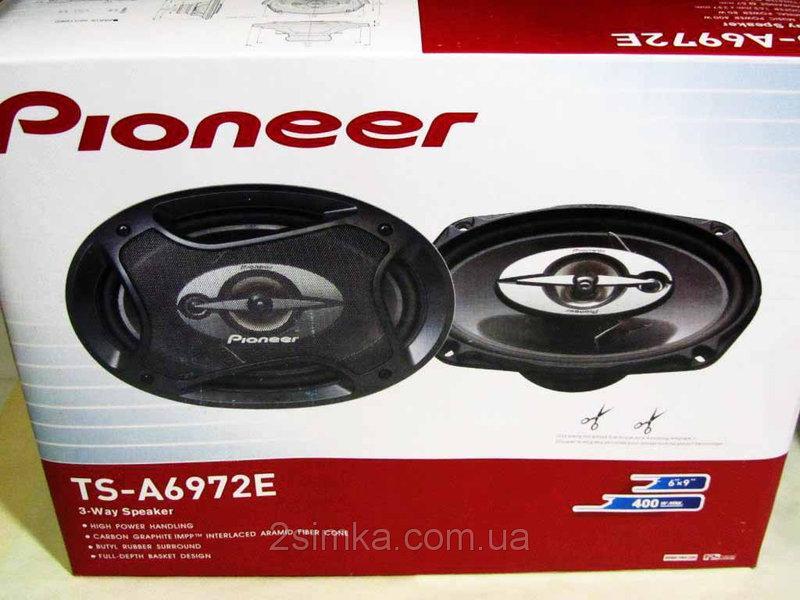 Pioneer TS-A6972E (400Вт) четырехполосные