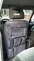 Органайзер на сиденье в машину с карманом для планшета