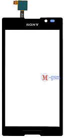 Сенсор (тачскрин) для телефона Sony C2305 black