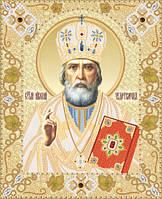 Схема для вышивки бисером Святитель Николай
