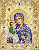 Схема для вышивки бисером Иерусалимская икона Божией Матери