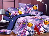 Полуторное постельное белье (поликоттон) XHY875