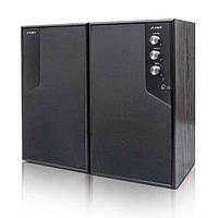 Акустическая система 2.0 F&D R216 2x6Вт, регуляторы спереди, цвет черный