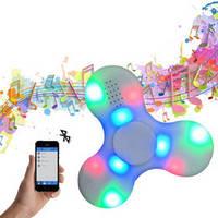 Спиннер Светящийся музыкальный LED Bluetooth Спиннер-колонка Hand spinner, finger