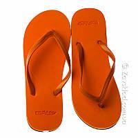 Пляжные женские вьетнамки VA Story оранжевые