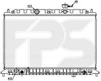 Радиатор охлаждения двигателя KIA (OEM) FP 40 A1431-X