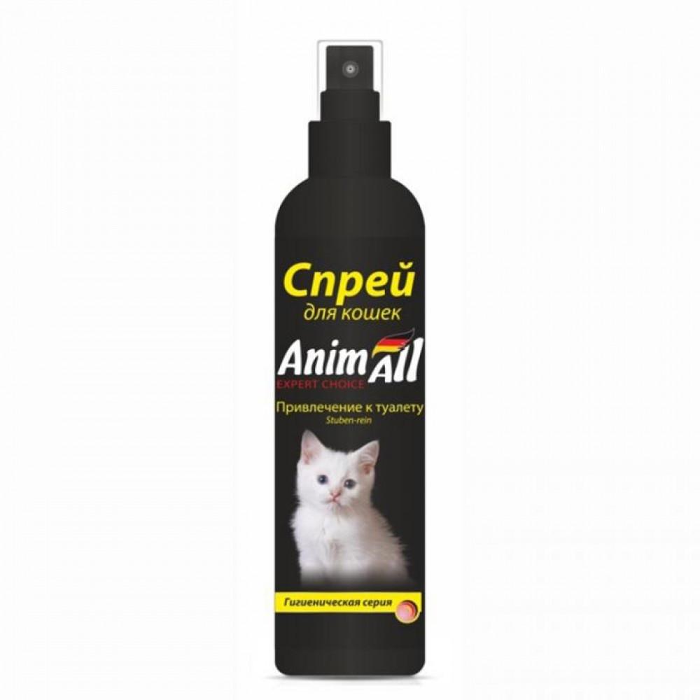 Спрей для привлечения к туалету для котят 150 мл, AnimАll (Энимал)