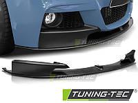Губа юбка сплиттер BMW F30 M Sport Paket стиль M - Performance