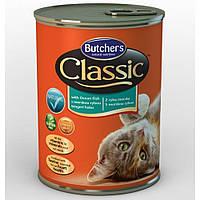 Butcher`s (Бутчерс) Cat Classic консервы для кошек рыба 400 г.