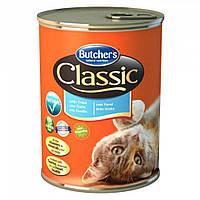 Butcher`s (Бутчерс) Cat Classic консервы для кошек форель 400 г.