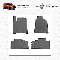 Автомобильные коврики Stingray SsangYong Korando 2011-