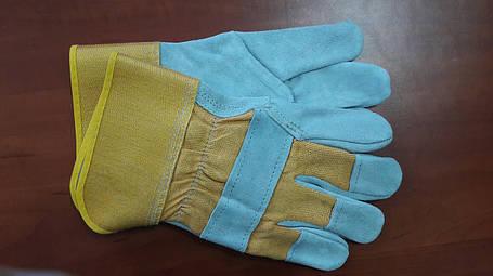 Перчатки замшевые, плотные, фото 2