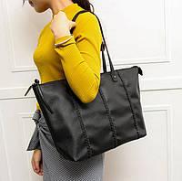 Большая женская сумка с косичками. Вместительный каждодневный аксессуар. Хорошее качество. Дешево. Код: КГ1440