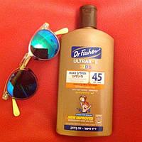 Солнцезащитный лосьон для детей SPF45.