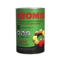 Неомид Био Колор Классик - Деревозащитный лессирующий состав (без УФ фильтра), 0,9л.