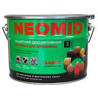 Неомид Био Колор Классик - Деревозащитный лессирующий состав (без УФ фильтра), 9л.