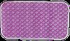 Противоскользящий коврик в ванную 660х370 мм пвх, без ТМ