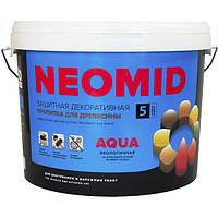 Неомид Био Колор Аква - деревозащитный лессирующий состав (акриловый c УФ фильтром), 9л.