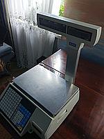 Весы с чекопечатью CAS CL5000J