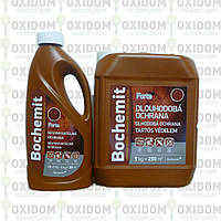 Бохемит Bochemit Forte - Невымываемый медный антисептик для защиты древесины, 1кг.