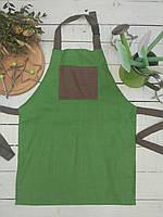 Фартук детский ,  зеленый
