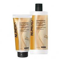 Шампунь для волос восстанавливающий с экстрактом овса Brelil Numero Total Repair Shampoo