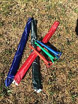 Держатель подставка для пляжного зонта Бур 39см, фото 2