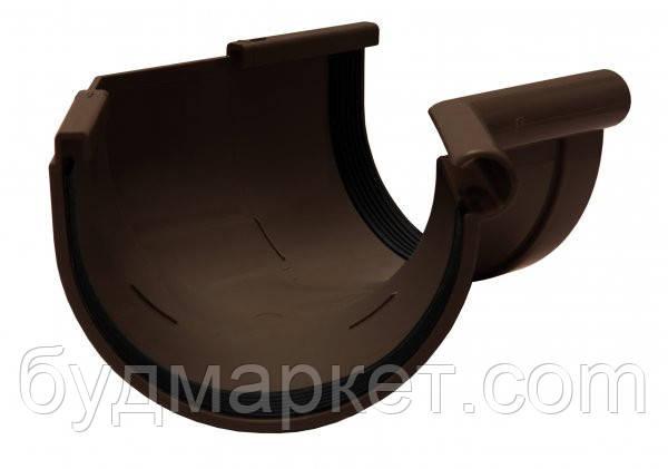 Угол желоба внутренний 135 град.коричневый 90 мм RAINWAY