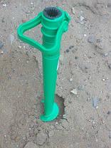 Держатель подставка для пляжного зонта Бур 39см, фото 3