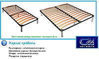 Металлический каркас к кровати 1600х2000 с ногами
