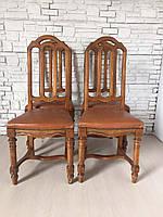 Итальянские стулья деревянные б/у из Европы 4шт.